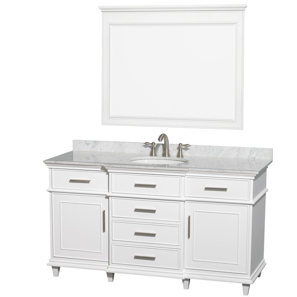56 inch double sink bathroom vanity top