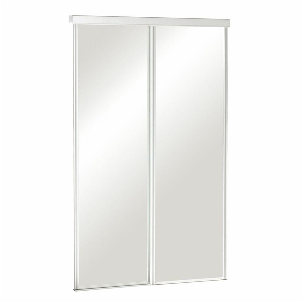 truporte 60 in x 80 in 325 series steel white frameless on Truporte 60 In X 80 In 106 Series Composite White id=15263