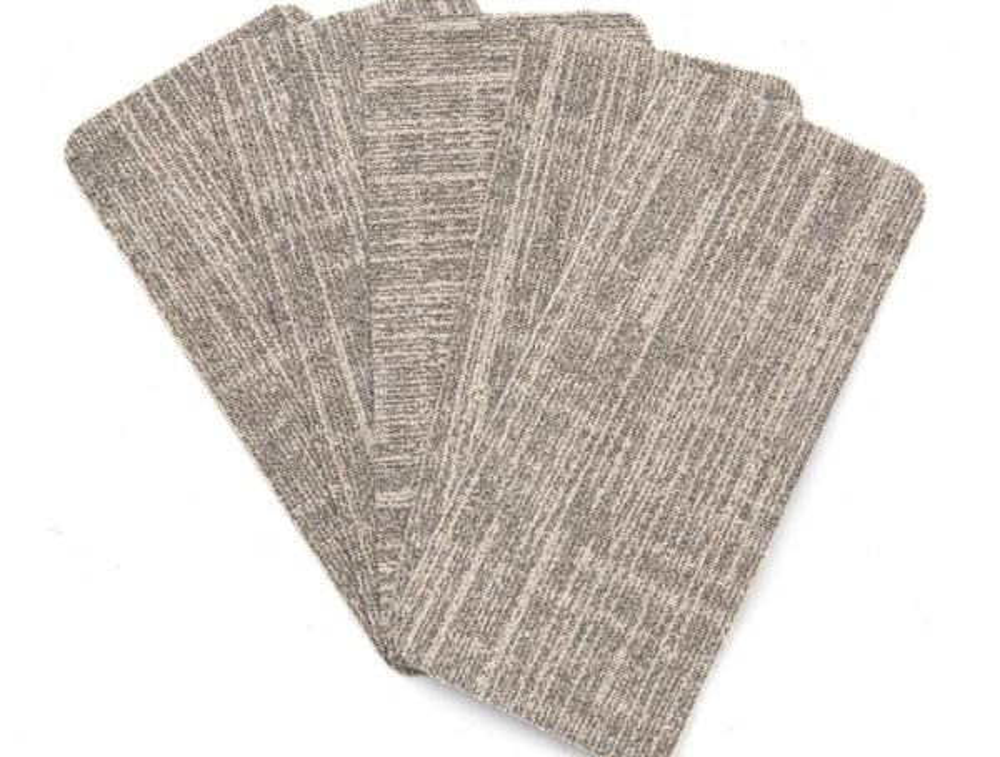 Nance Carpet And Rug Peel And Stick Earthtone Indoor Outdoor 8 In | Outdoor Carpet Stair Treads | Stair Runner | Rug | Stair Nosing | Slip Resistant | Flooring