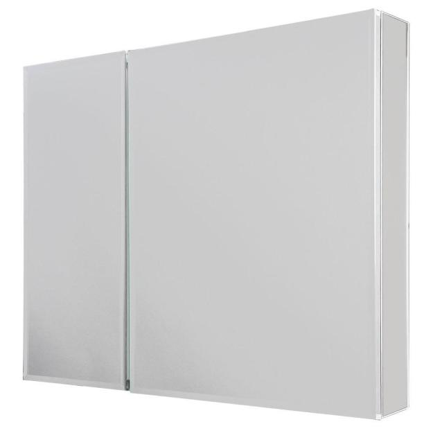glacier bay 30 in. w x 26 in. h frameless recessed or surface-mount
