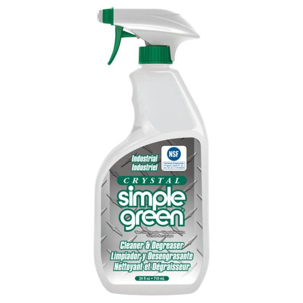 Simple Green 24 oz  Crystal Cleaner Degreaser 0600000119024   The     Crystal Cleaner Degreaser