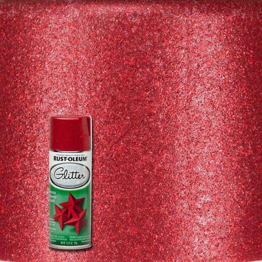 Red Glitter Spray Paint 268045 The