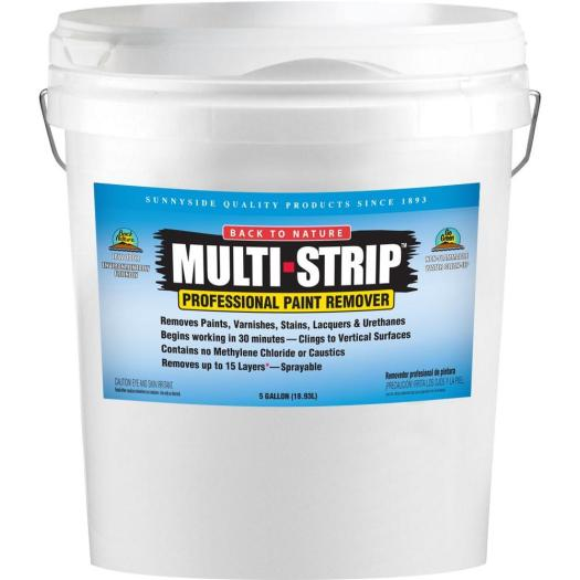 Multi Strip 5 Gal Multiple Layer Paint And Varnish Remover Ms05 The