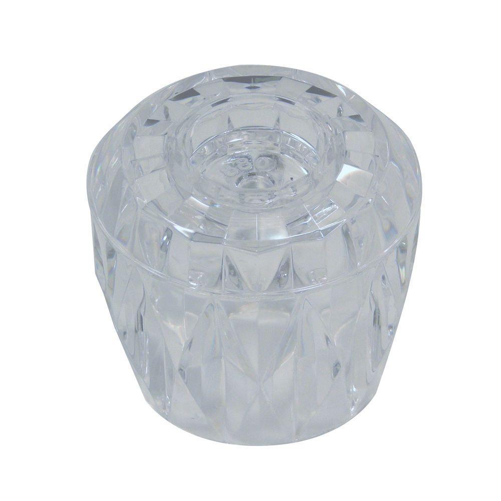 DANCO Tub Amp Shower Handle For Valley In Clear Acrylic