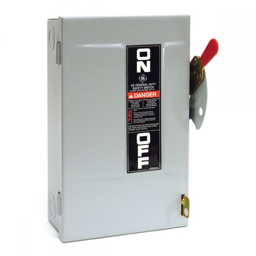 Disconnect Electrical Fused Safety Switch