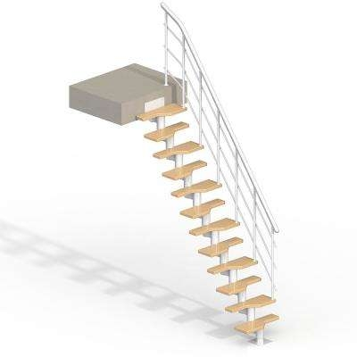 Interior Spiral Staircase Kits Stair Parts The Home Depot | 36 Inch Spiral Staircase | Steel | Staircase Kits | Building Code | Steps | Stair Case