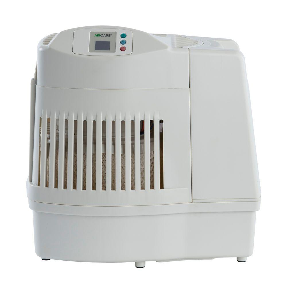 Aircare 2 5 Gal Evaporative Humidifier For 2 600 Sq Ft Ma0800 The Home Depot