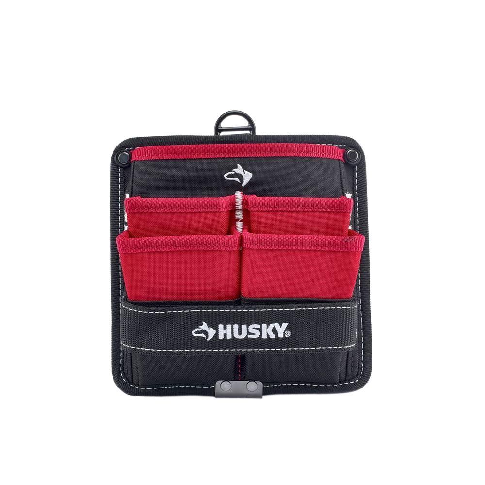 Husky 7 In 5 Pocket Tool Pouch Bag GP 53257BN16 The Home Depot