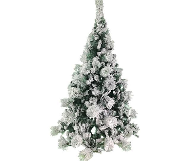 Unlit Flocked Artificial Christmas Tree