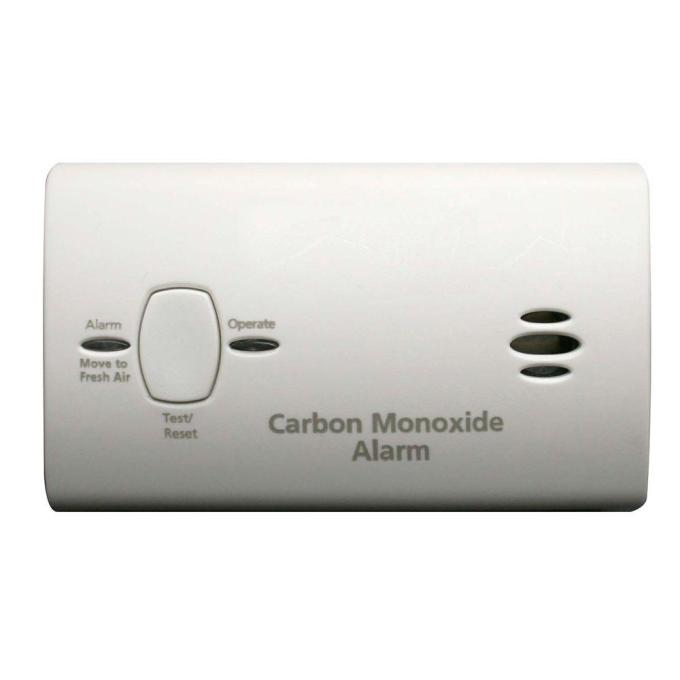 Carbon Monoxide Alarm Flashing Green Light