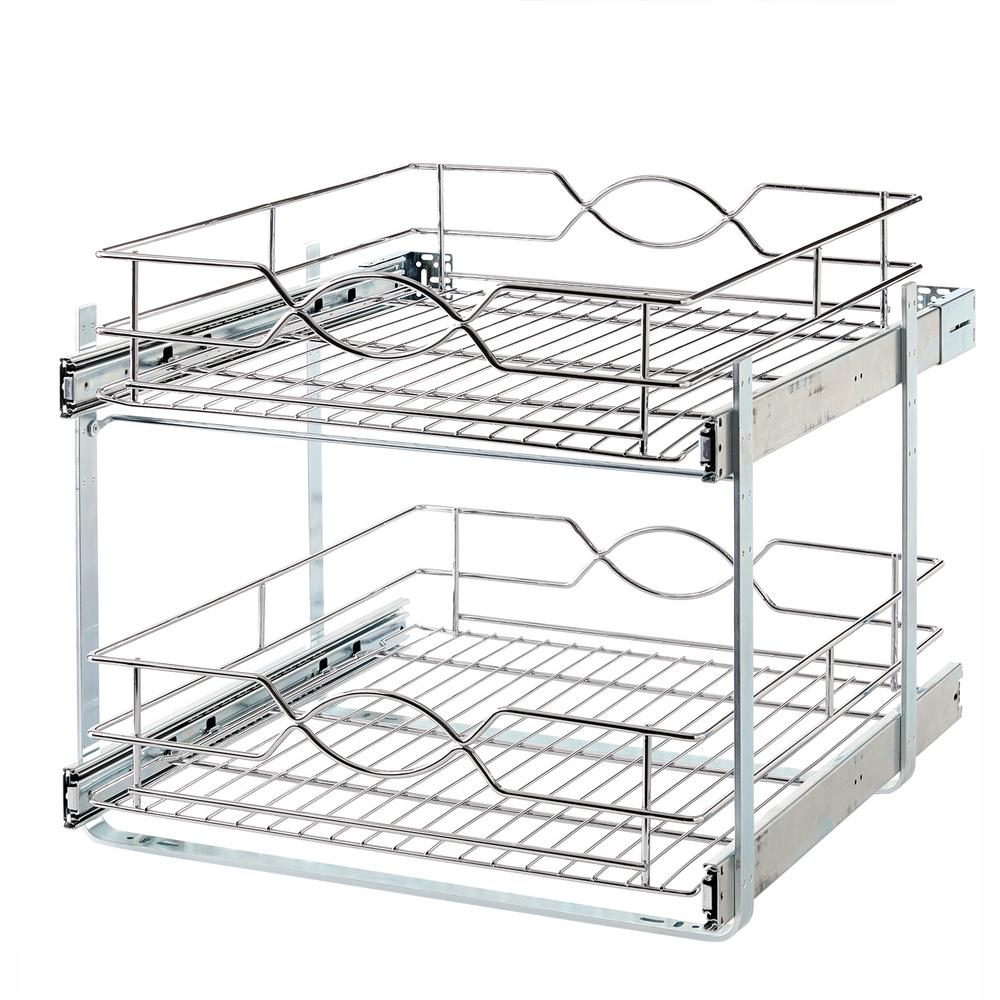 storage holder in cabinet pull out