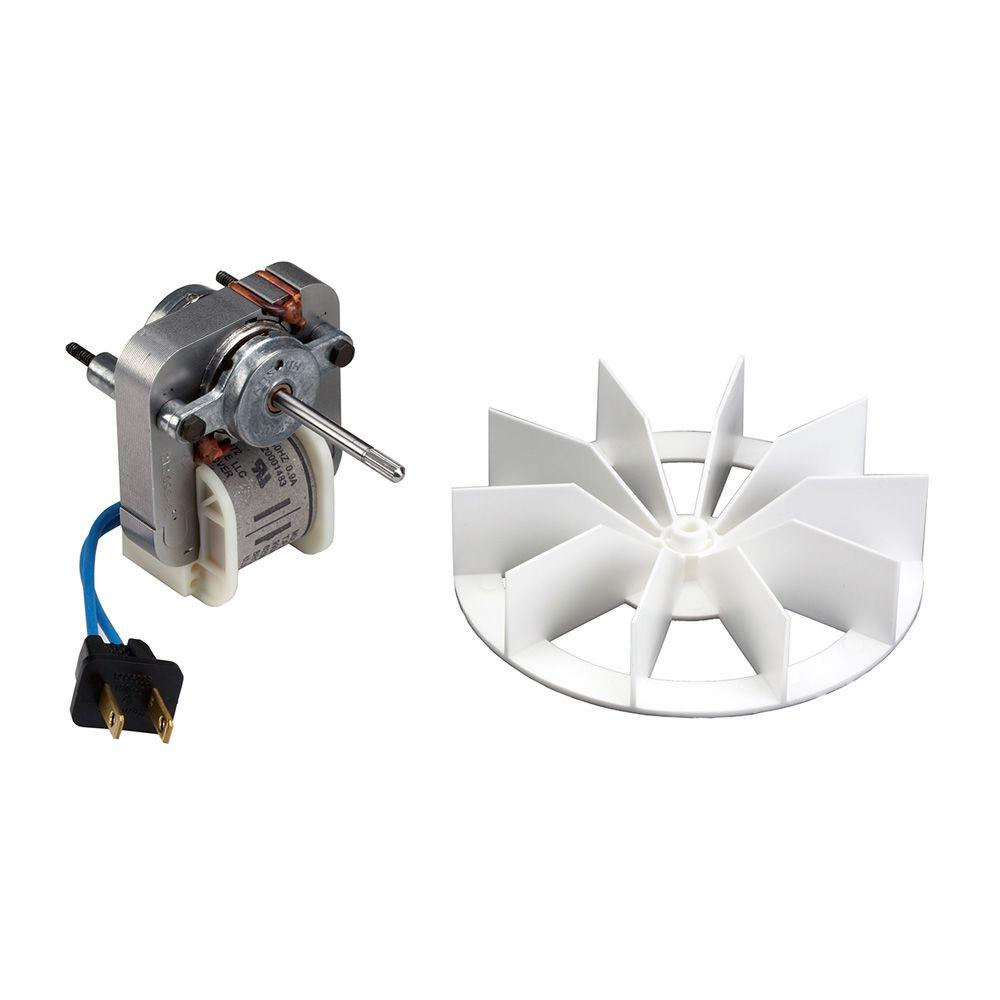 broan replacement motor and impeller for 659 and 678 ventilation