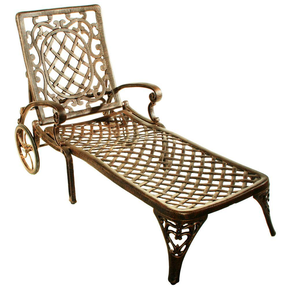 Oakland Living Mississippi Patio Chaise Lounge-2108-AB ... on Ab And Outdoor Living  id=64862