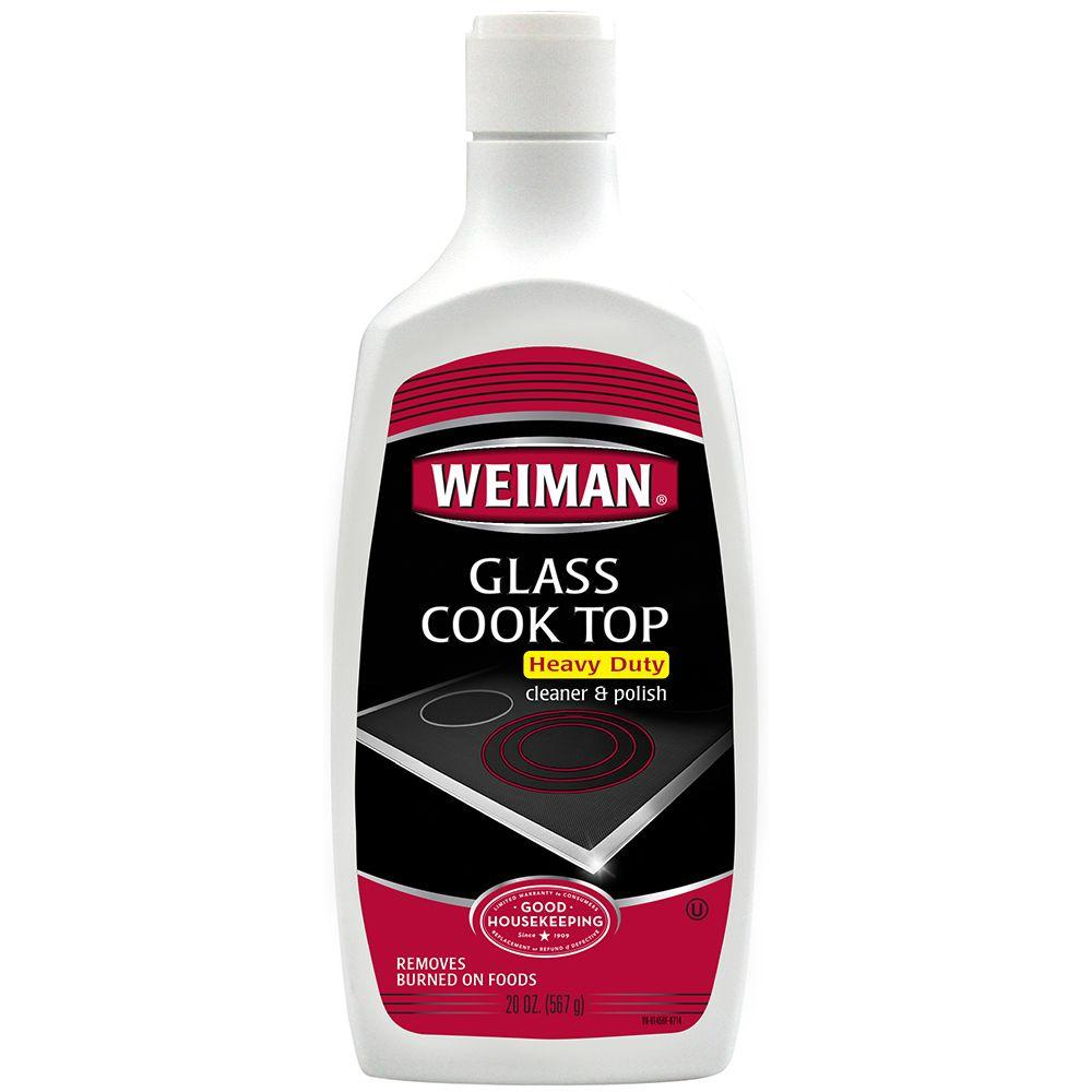 Weiman 20 Oz Glass Cooktop Cleaner 137 The Home Depot