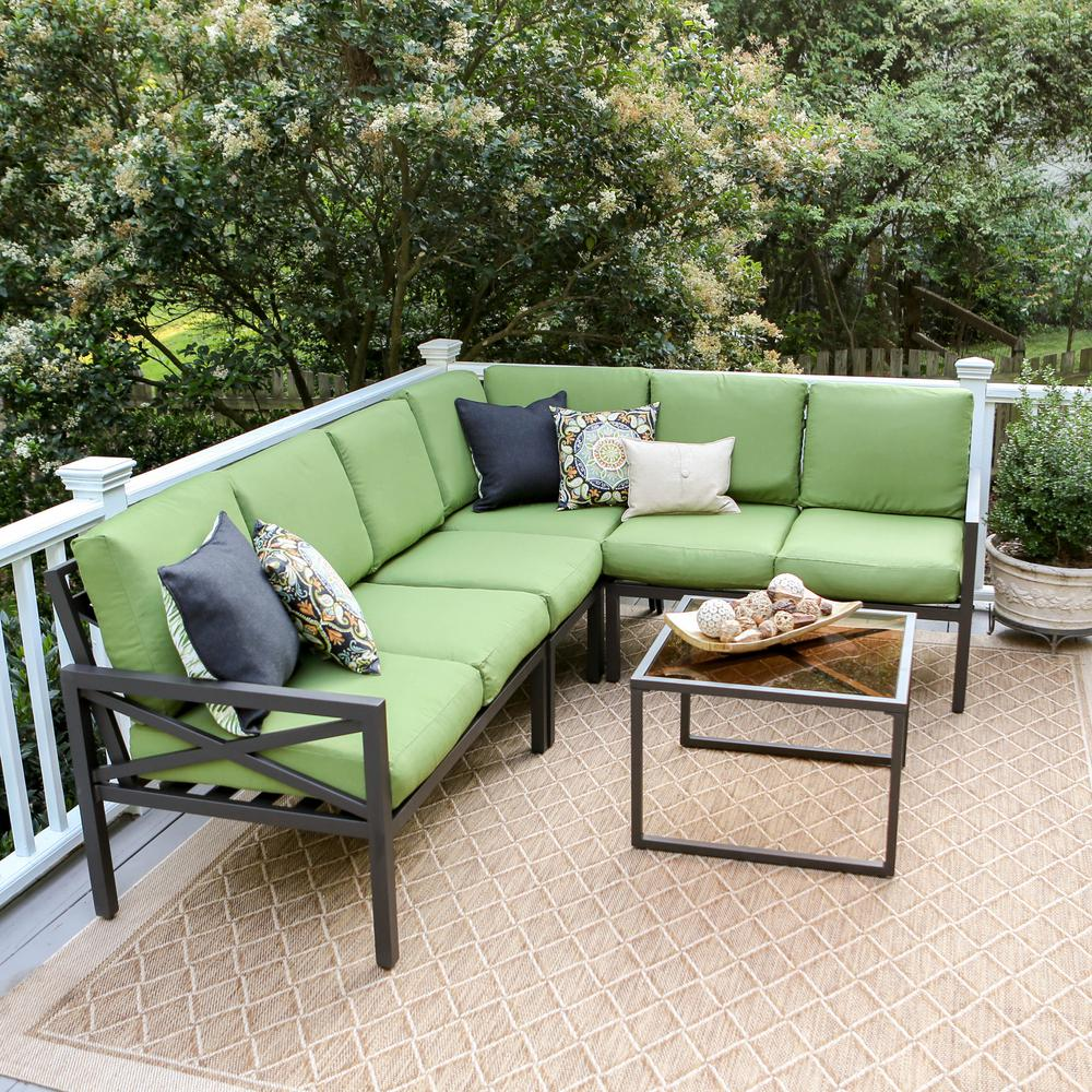 green and black cushions online