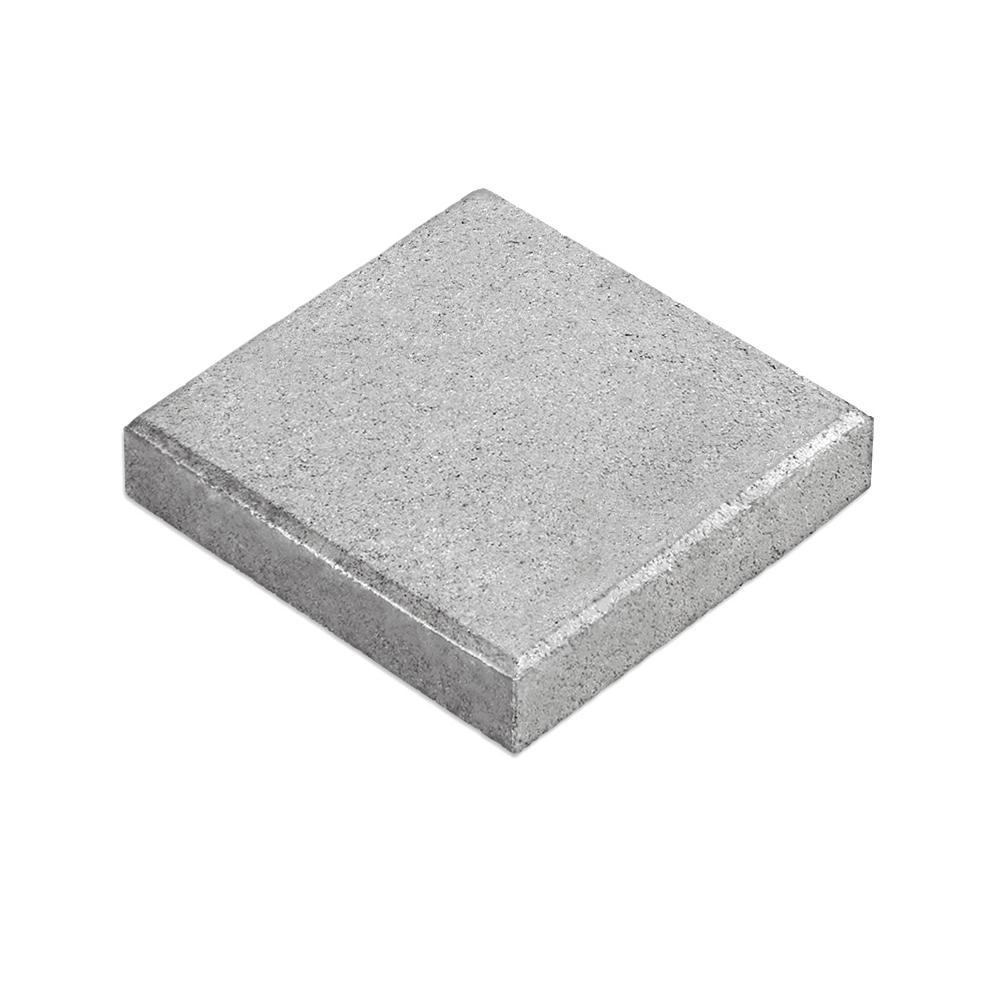 Tileco 12 in. x 12 in. Square Concrete Patio Block-PBS ... on Square Concrete Patio Ideas id=58380