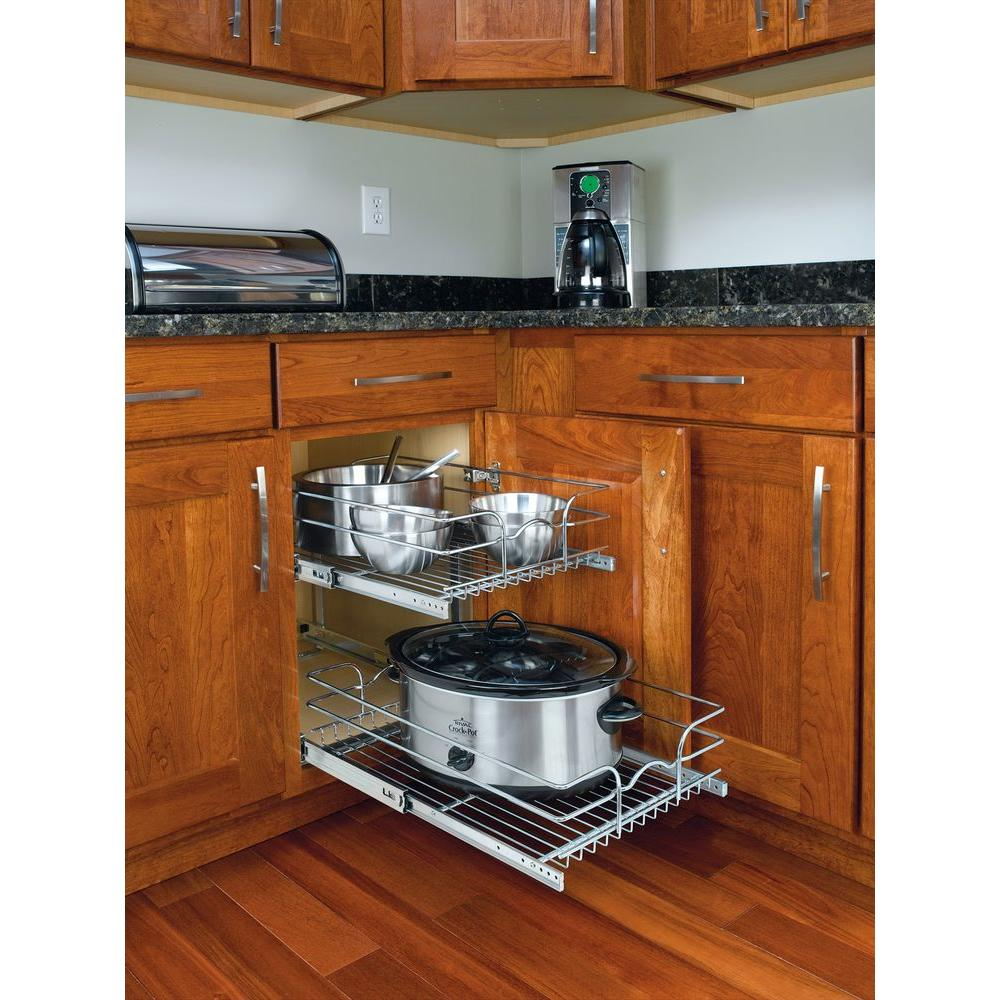 Best Kitchen Gallery: Pull Out Organizers Kitchen Cabi Organizers The Home Depot of Kitchen Base Cabinet Organizers on cal-ite.com