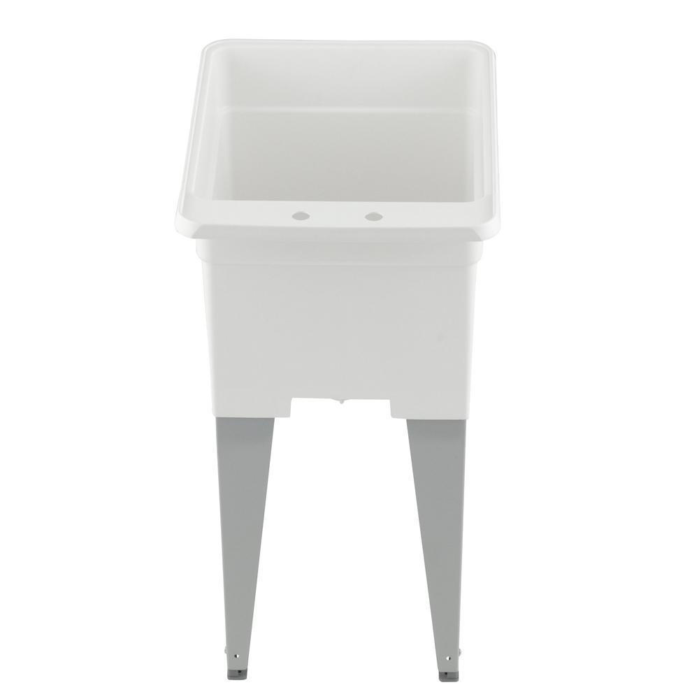 mustee k 21f fp floor mount laundry tub