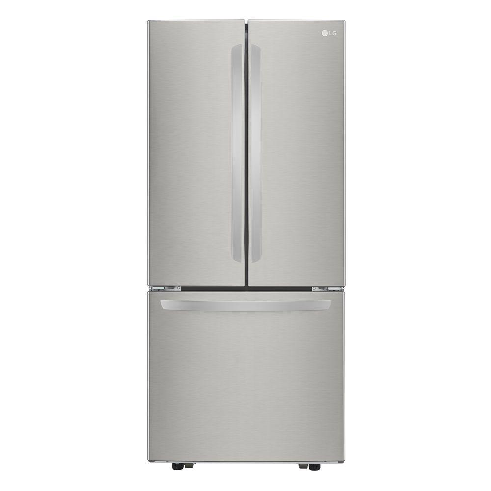 LG Electronics 218 Cu Ft French Door Refrigerator In