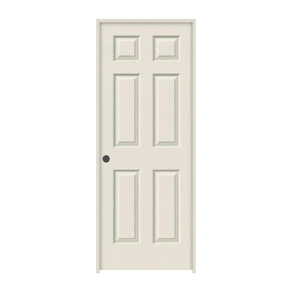 jeld wen 24 in x 80 in colonist primed right 24 In X 80 In Colonist Primed Textured Molded Composite id=64037