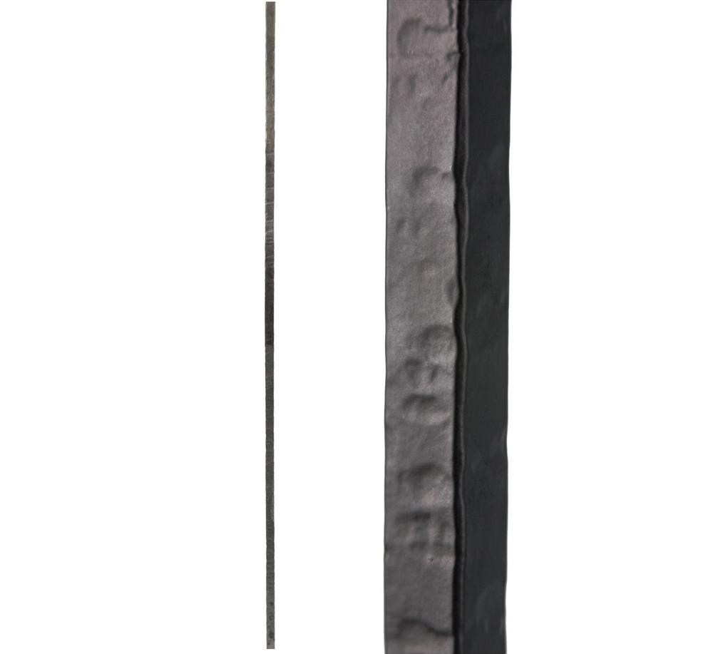 House Of Forgings Satin Black 3 2 1 Square Hammered Plain Solid | Iron Spindles Home Depot | Ole Iron Slides | Wm Coffman | Stair Parts | Oil Rubbed | Deck