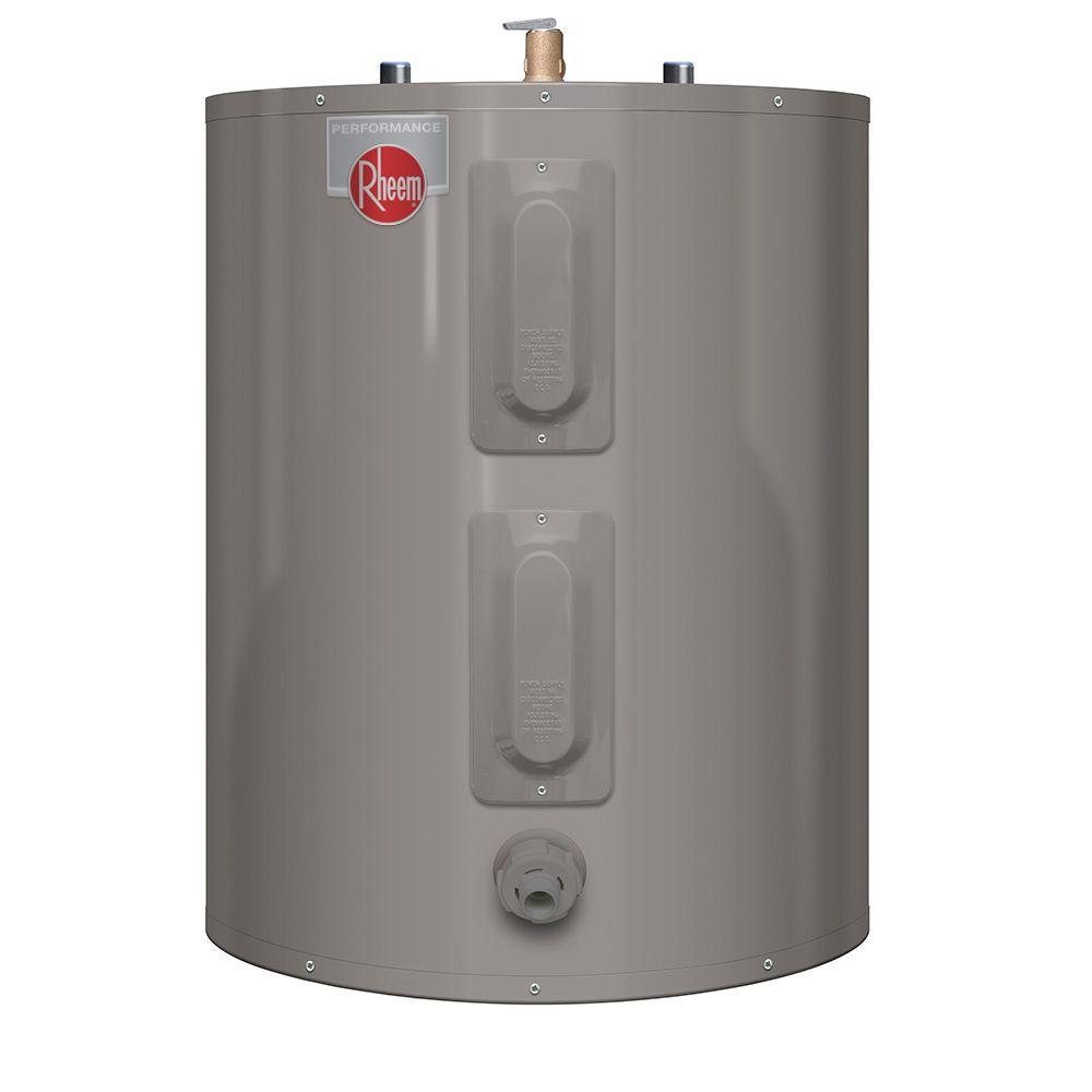 Rheem Performance 47 Gal Short 6 Year Electric Water Heater Xe47s06st45u1 The Home Depot