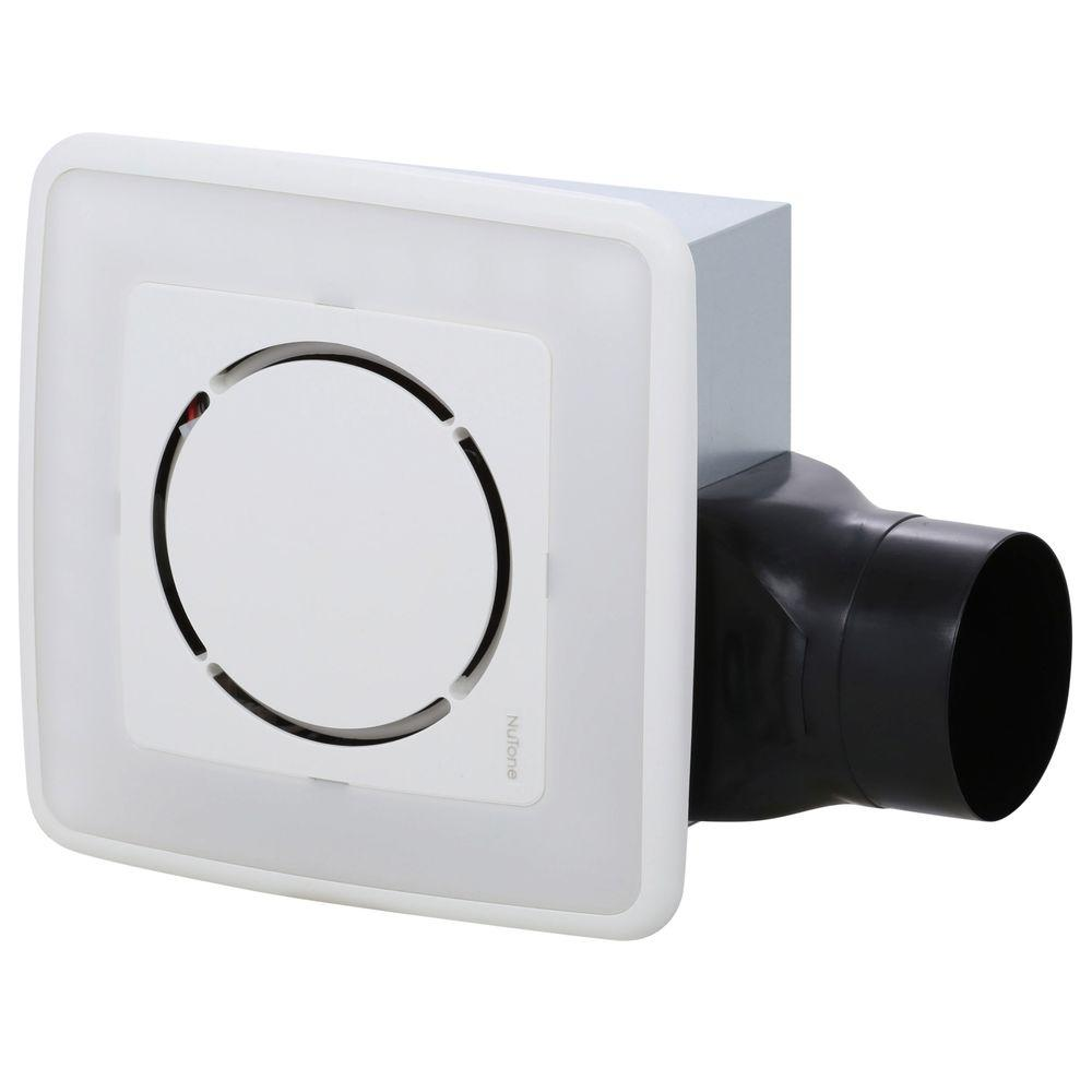 nutone 100 cfm ceiling exhaust bath fan with soft surround led