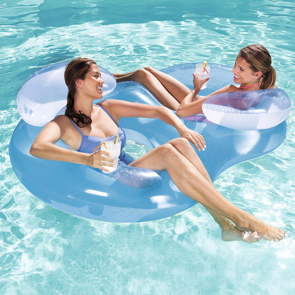 Bestway Double Ring Floating Lounge For Swimming Pools