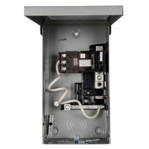 Siemens 125 Amp 4 Space 8 Circuit Main Lug Outdoor Spa