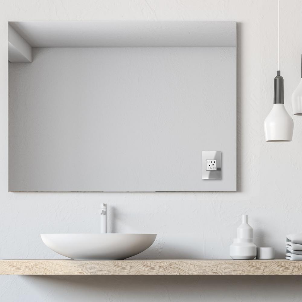 mirror light switch plates wall