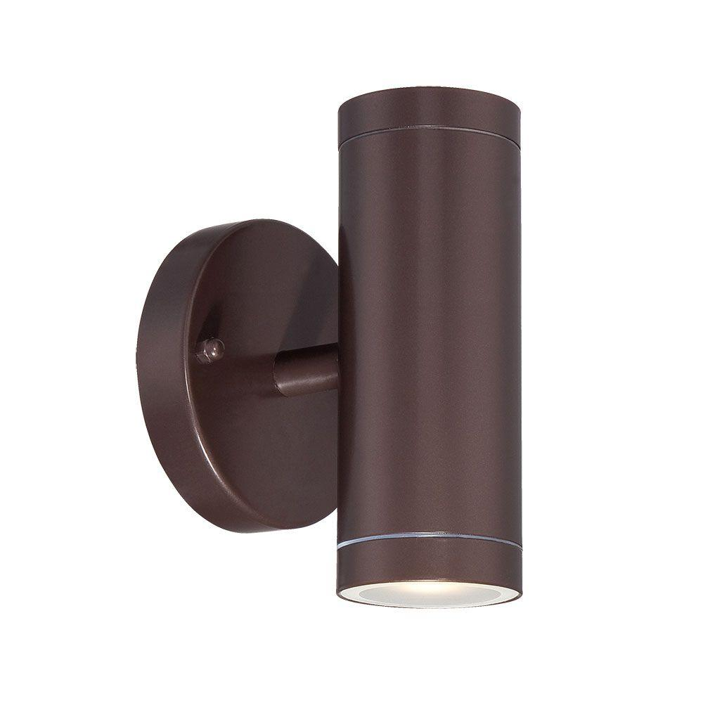 Acclaim Lighting 2-Light Architectural Bronze Integrated ... on Led Sconce Lighting id=59181
