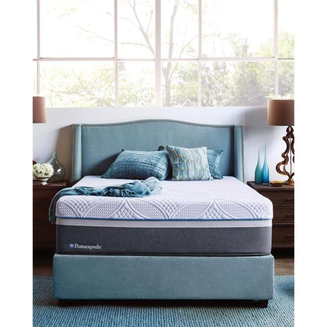 Sealy Hybrid Ultra Plush King Size Mattress With 5 In Low Profile Foundation