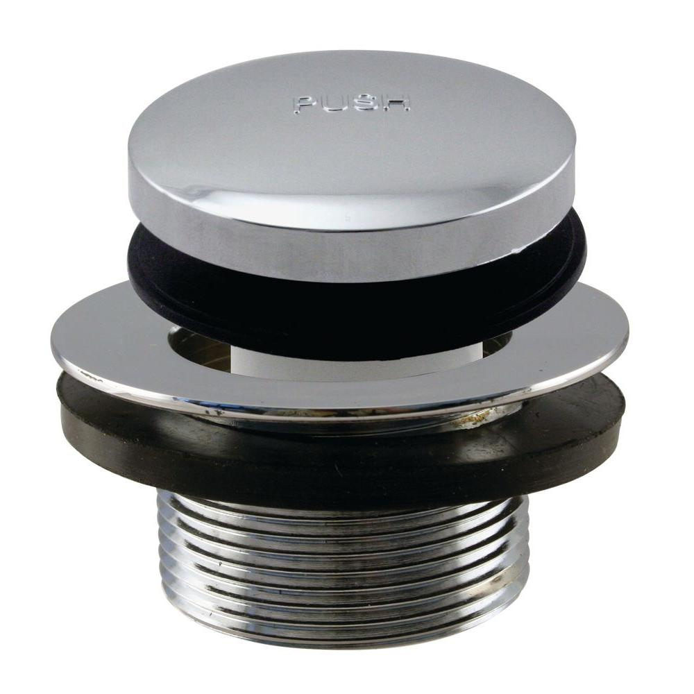 Westbrass 3 In Tip Toe Bath Drain And Stopper Coarse