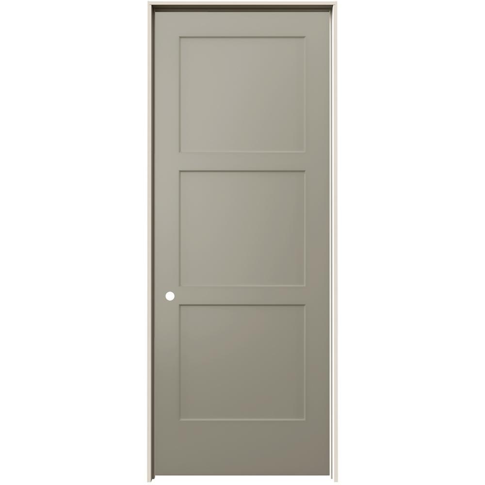 jeld wen 36 in x 96 in birkdale vanilla paint 36 In X 96 In Composite White Interior Bi Fold Door id=26816