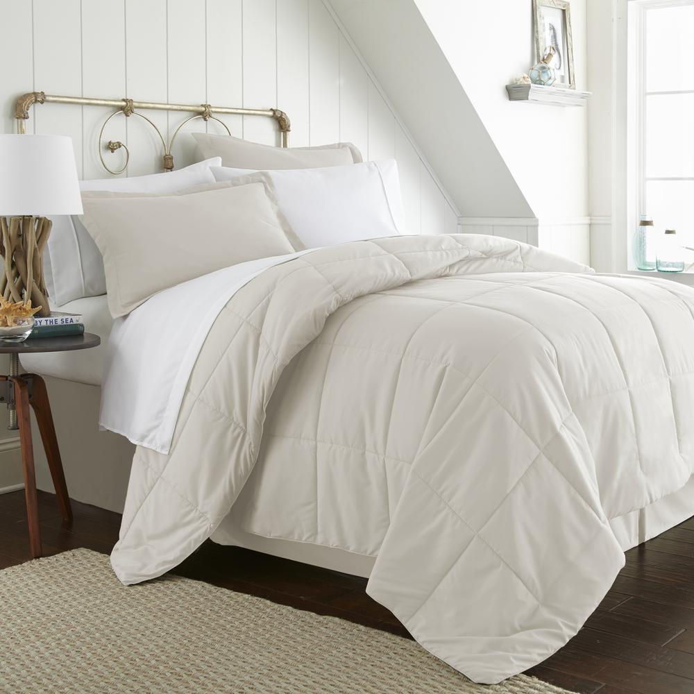 becky cameron performance 8 piece ivory california king comforter set ieh mult ck iv the home depot