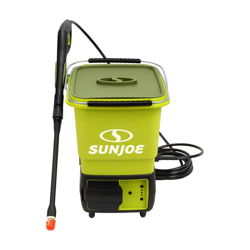 Sun Joe 40 Volt 1160 Max PSI Cordless Pressure Washer Kit With 50 Ah Battery Charger SPX6000C