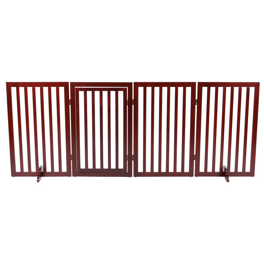 Trixie 4 Part Convertible Wooden Dog Gate 39458 The Home