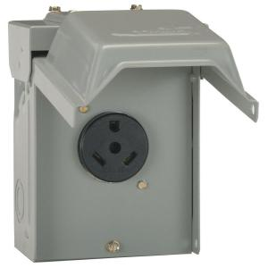 GE 30 Amp Temporary RV Power OutletU013P  The Home Depot