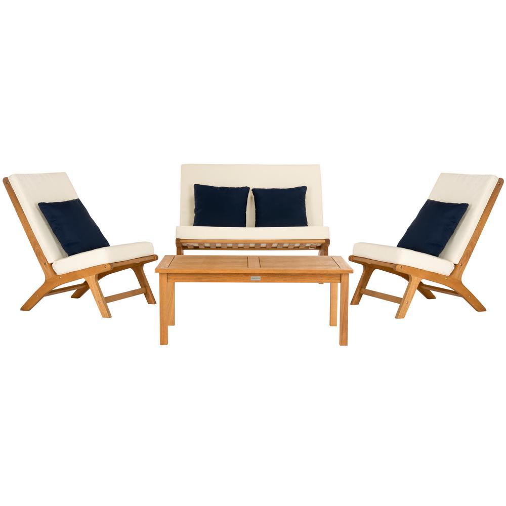 Safavieh - Patio Conversation Sets - Outdoor Lounge ... on Safavieh Raldin id=82509