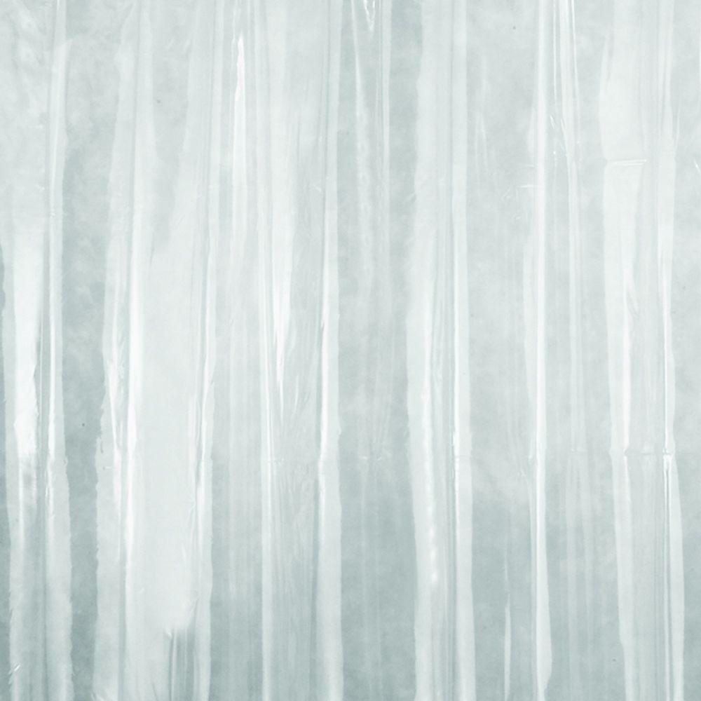 interdesign x long shower curtain liner in clear 14581 the home depot