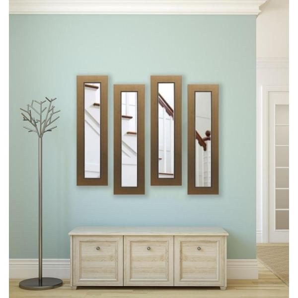 32 in. x 11 in. Golden Lowe Non-Beveled Decorative Panel ...
