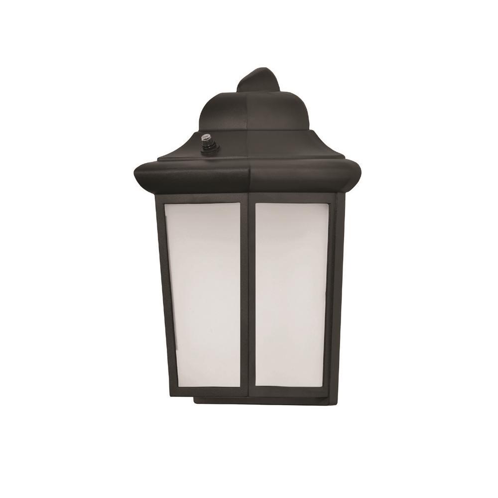 AFX Patriot Medium 1-Light Black Integrated LED Outdoor ... on Sconce Outdoor Lighting id=58059
