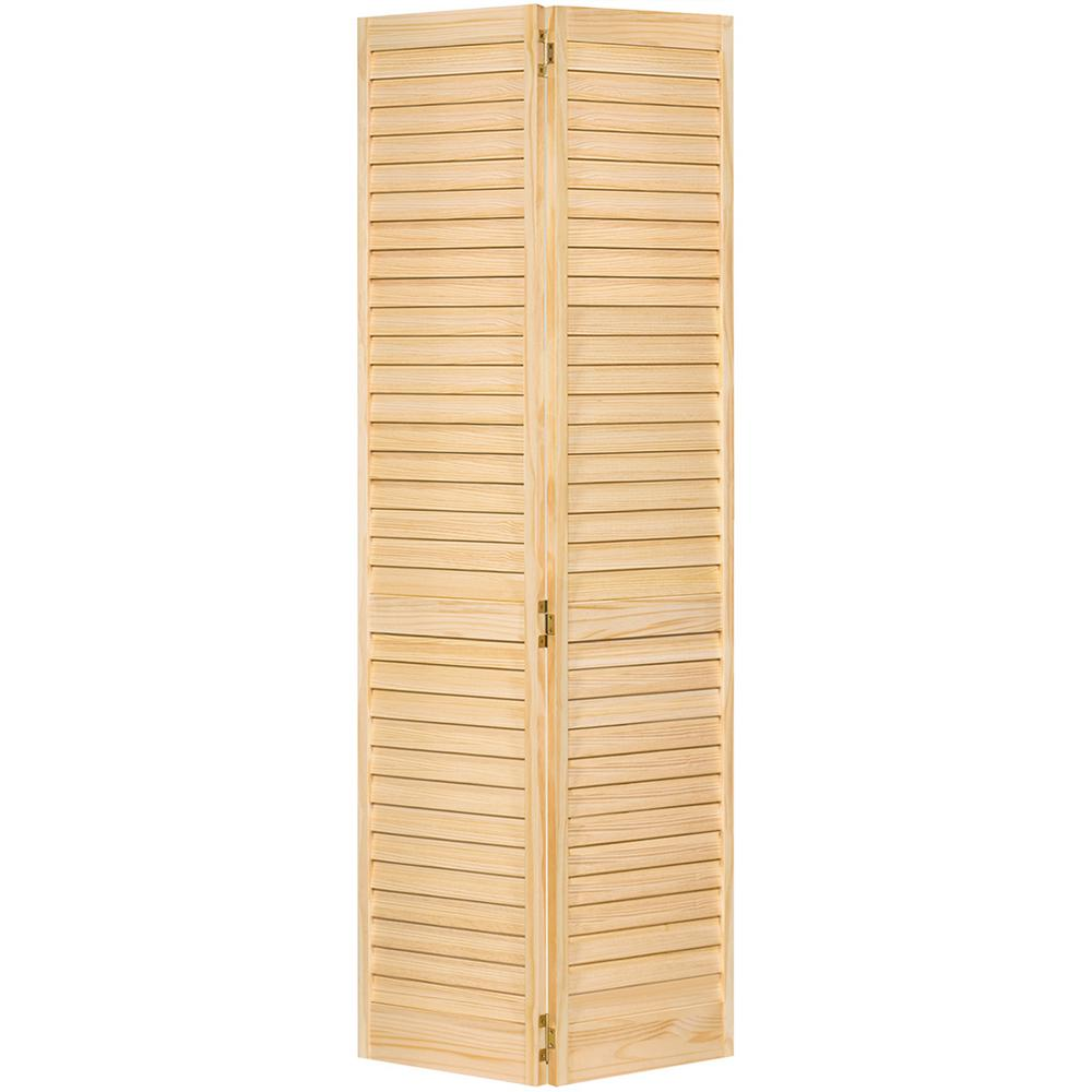 bay 32 in x 80 in 32 in plantation louvered Bay 32 In X 80 In 32 In Clear 6 Panel Solid id=24795