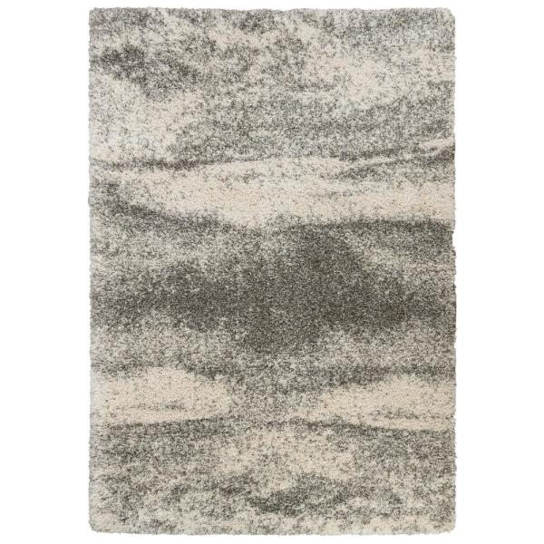 Home Decorators Collection Stormy Gray 2 Ft X 8 Ft Abstract | Home Depot Rug Runners By The Foot | Area Rugs | Regent Tan | Plastic | Carpet Protector | Mat