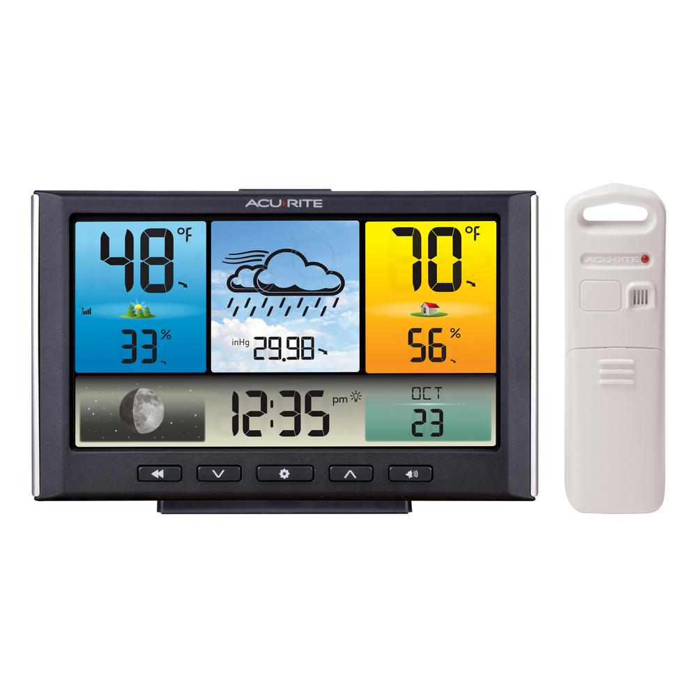 AcuRite Digital Wireless Weather Station With Color