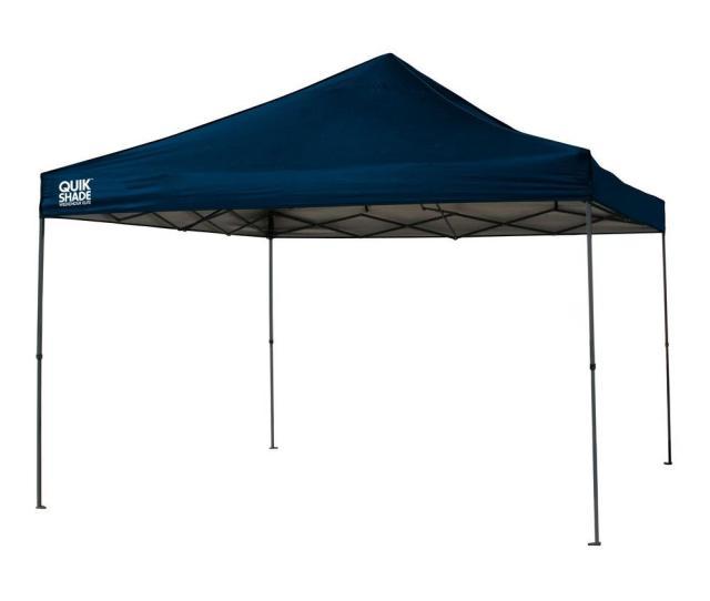 Quik Shade We Weekender Elite  Ft X  Ft Navy Blue Instant Canopy