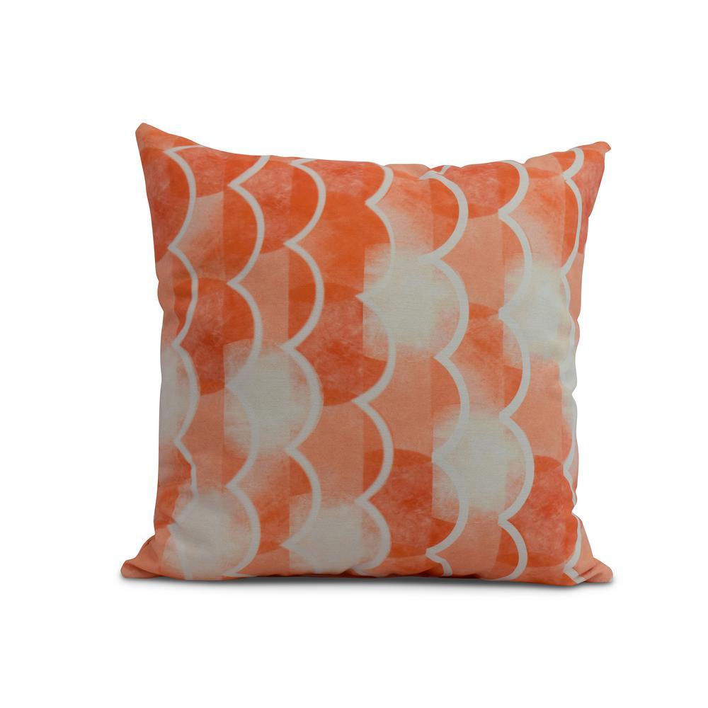 Orange Decorative Nautical Throw Pillow Pg1233o1 20 The Home Depot