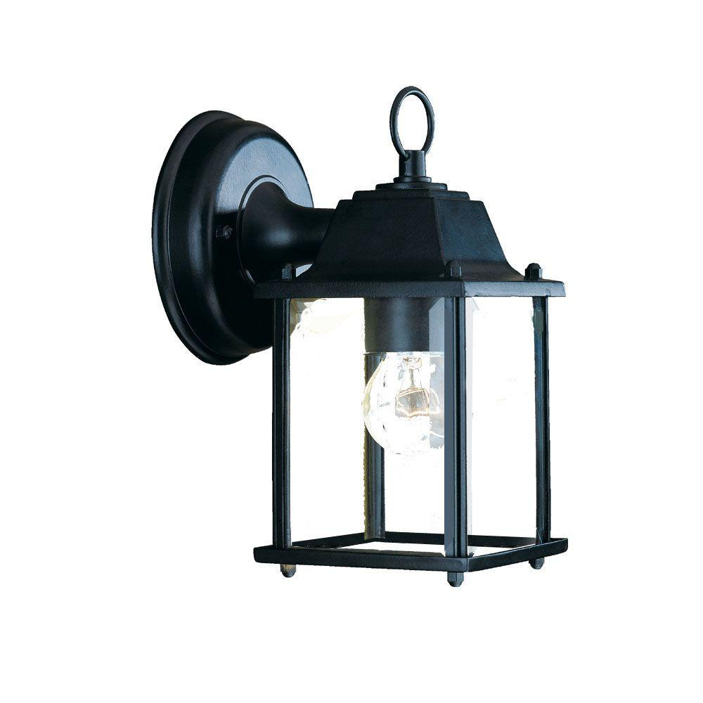 Acclaim Lighting Builder's Choice Collection 1-Light Matte ... on Outdoor Lighting Fixtures Wall Mounted id=56796