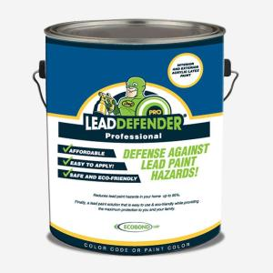 Lead Defender Pro Off White Flat Interior Exterior Paint And Primer Sealant Treatment Eco Lbp 1001 P The