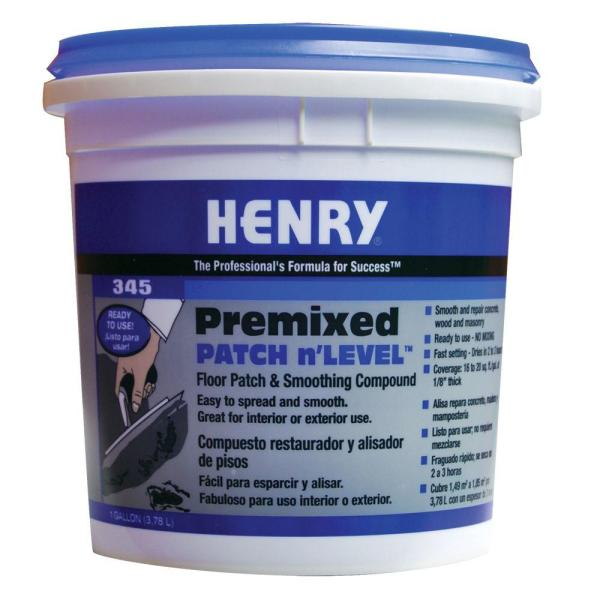 Henry 345 1 gal  Premixed Patch and Level 12064   The Home Depot Henry 345 1 gal  Premixed Patch and Level